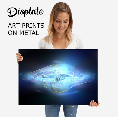Displate arts print on metal
