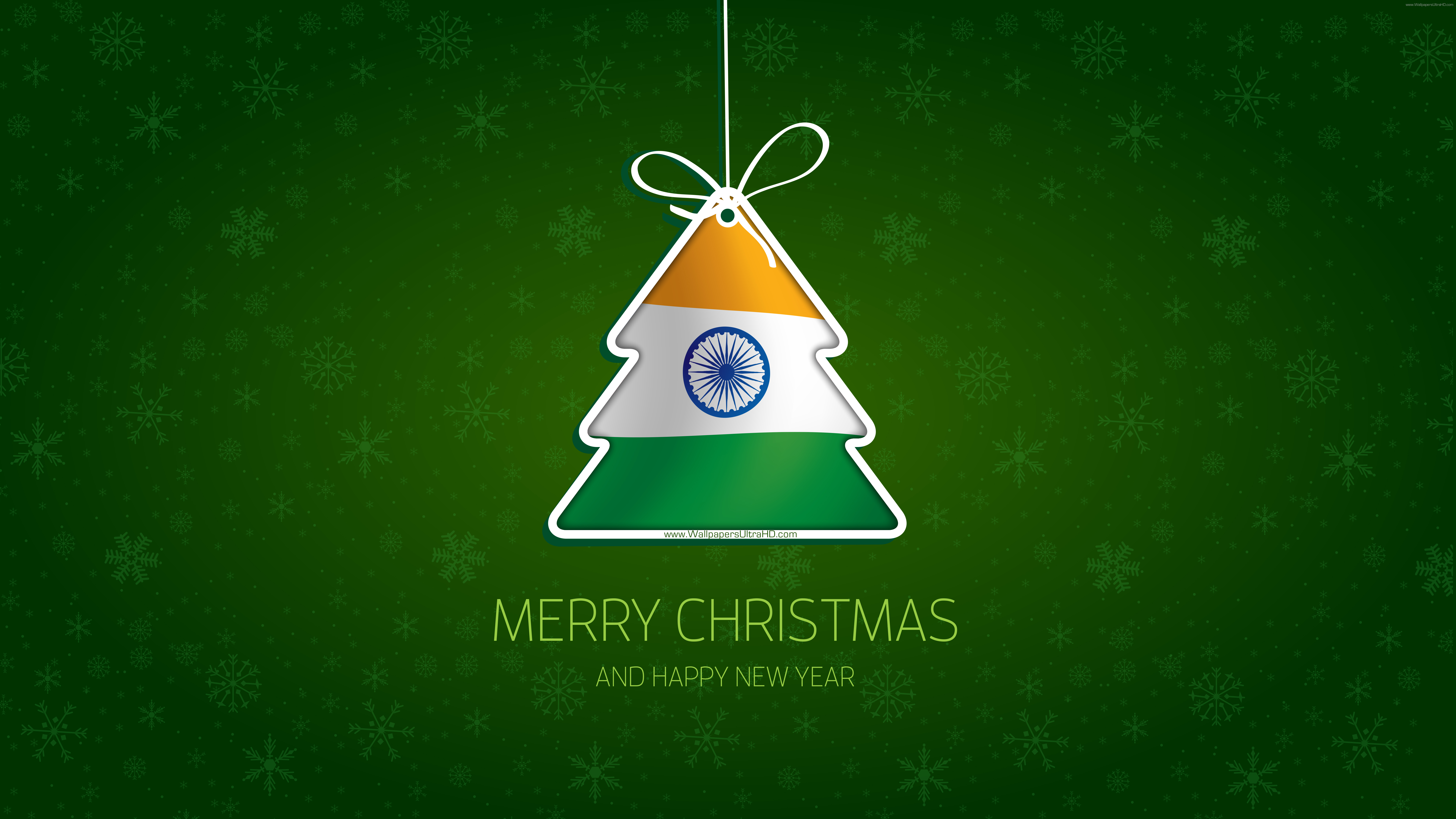 Christmas tree INDIA happy new year